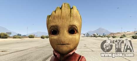 GTA 5 Baby Groot 1.0 second screenshot