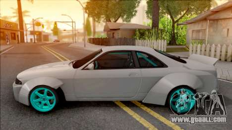 Nissan Skyline R33 Rocket Bunny for GTA San Andreas left view