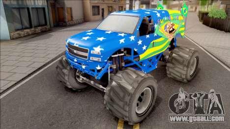 The Liberator Monster Car HueBr for GTA San Andreas