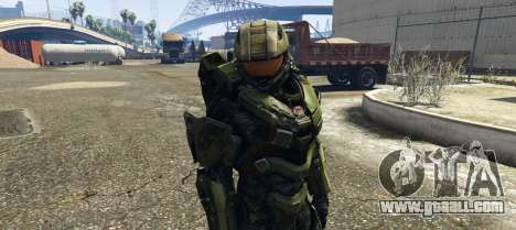 GTA 5 Master Chief third screenshot