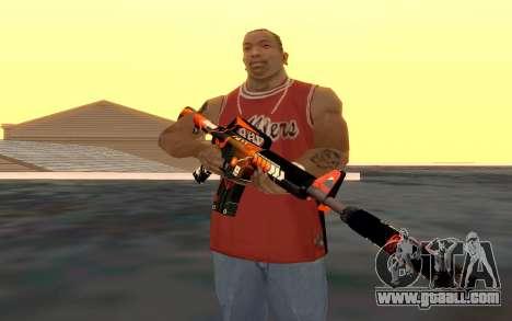 M4 Alliance for GTA San Andreas fifth screenshot
