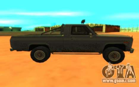 Ford F100 for GTA San Andreas left view