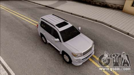 Toyota Land Cruiser 200 Sport for GTA San Andreas right view