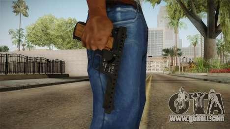 MBA Gyrojet Pistol for GTA San Andreas third screenshot