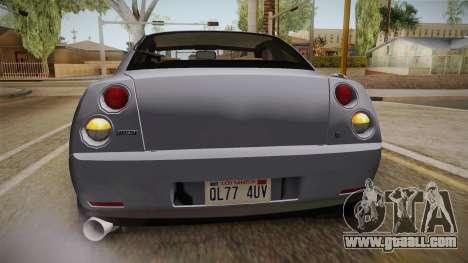 Fiat Coupe for GTA San Andreas interior