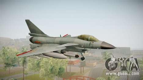 Chengdu J-10 Vigorous Dragon for GTA San Andreas