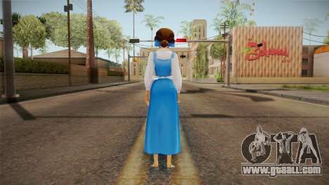Beauty and the Beast - Belle for GTA San Andreas third screenshot