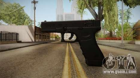 Glock 18 3 Dot Sight Red for GTA San Andreas second screenshot