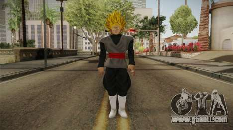 DBX2 - Goku Black SSJ v2 for GTA San Andreas second screenshot