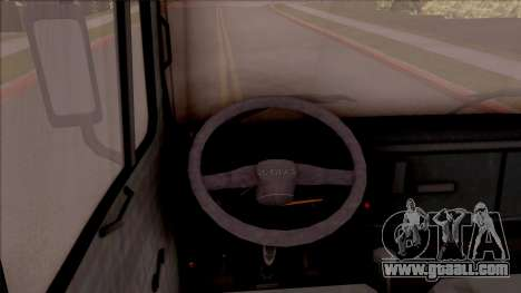Zastava 640 T for GTA San Andreas inner view