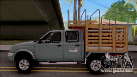 Nissan Frontier for GTA San Andreas left view