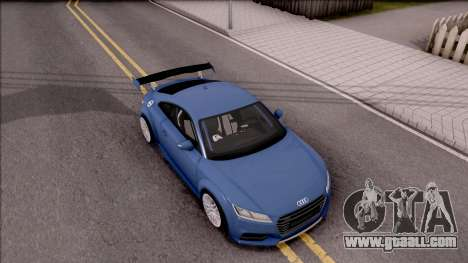 Audi TTS 2015 for GTA San Andreas right view