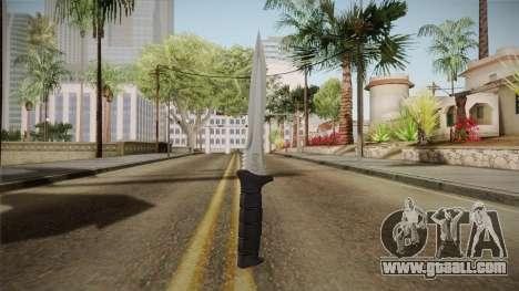Ada Wong Knife for GTA San Andreas second screenshot