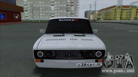 VAZ 2106 Shaherizada 2.1 GVR SA:MP for GTA San Andreas