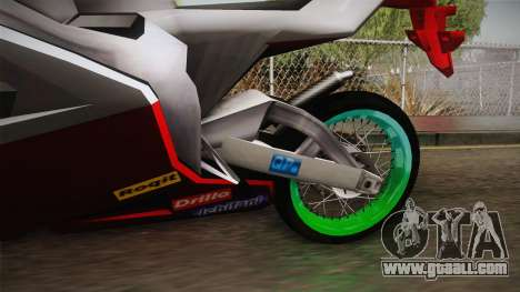 New NRG-500rr for GTA San Andreas inner view