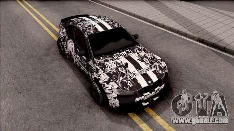 BMW M3 E92 2B of NieR: LB Performance for GTA San Andreas right view