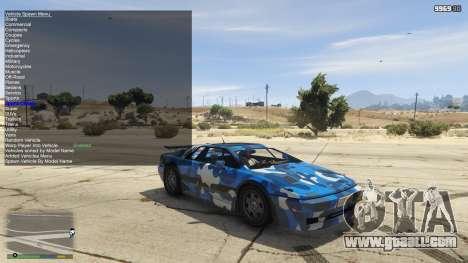 GTA 5 Simple Trainer 5.4 third screenshot