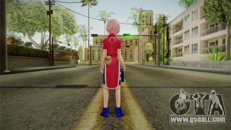 Sakura Haruno NNK for GTA San Andreas third screenshot