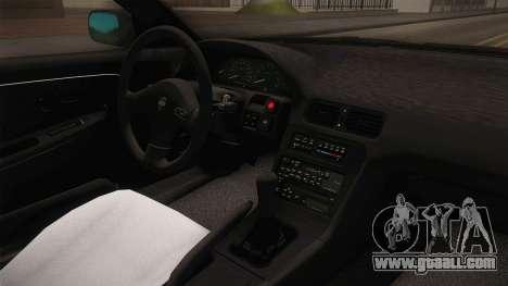 Nissan 240SX Ousawa Miu Itasha for GTA San Andreas inner view