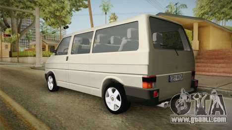 Volkswagen T4 1995 for GTA San Andreas left view