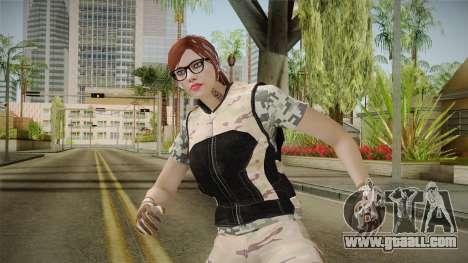 Gunrunning Female Skin v3 for GTA San Andreas