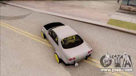 Nissan Skyline R33 Rocket Bunny v4 for GTA San Andreas back view