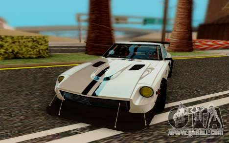 Nissan Fairlady 240Z Rocket Bunny for GTA San Andreas back view