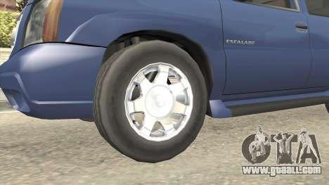 Cadillac Escalade 2002-2006 v2 for GTA San Andreas back view