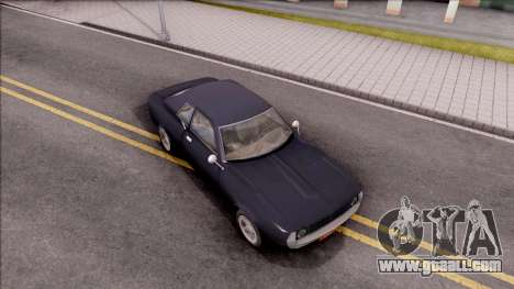 Driver PL Bonsai V.2 for GTA San Andreas right view