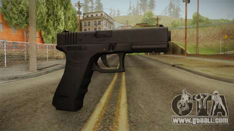 Glock 17 3 Dot Sight Orange for GTA San Andreas
