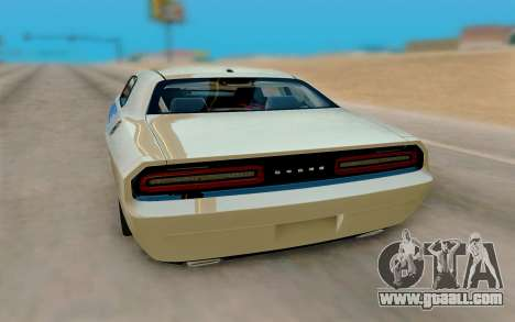 Dodge Challenger Drag Pak Supercharged for GTA San Andreas right view