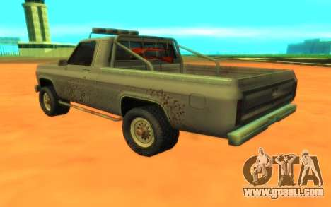 Ford F100 for GTA San Andreas back left view