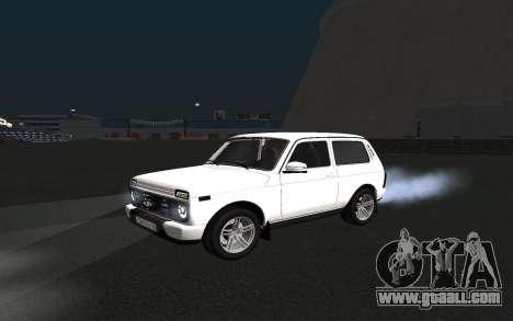 Lada Urban for GTA San Andreas left view