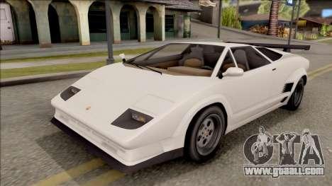 GTA V Pegassi Torero for GTA San Andreas