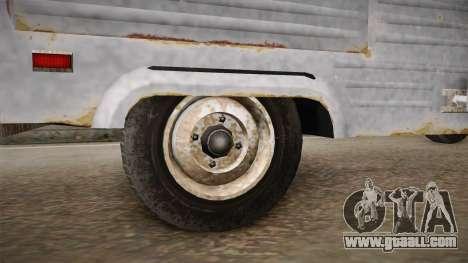 GTA 5 Zirconium Journey Worn IVF for GTA San Andreas back view