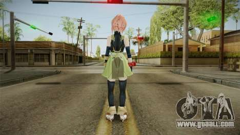 God Eater 2: Rage Burst - Kanon Daiba v1 for GTA San Andreas third screenshot