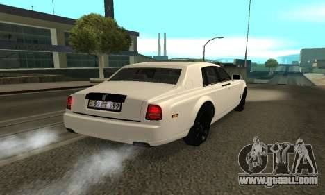 Rolls-Royce Ghost Armenian for GTA San Andreas left view