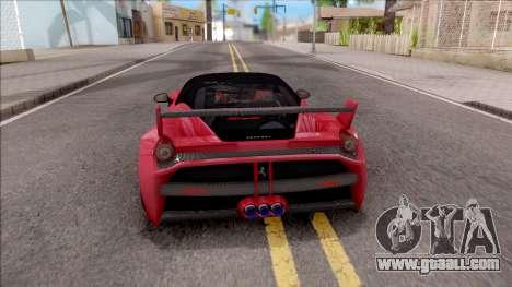 Ferrari 458 Italia Misha Design for GTA San Andreas