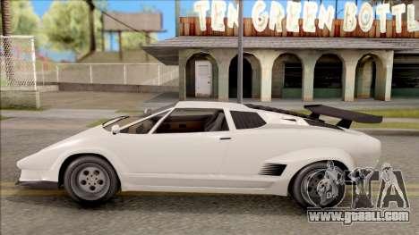 GTA V Pegassi Torero for GTA San Andreas left view