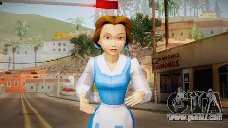 Beauty and the Beast - Belle for GTA San Andreas