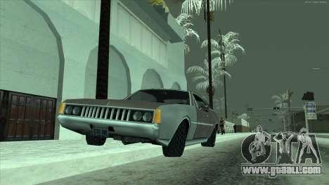 Snow tires machines for GTA San Andreas third screenshot