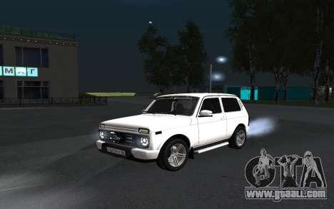 Lada Urban for GTA San Andreas inner view