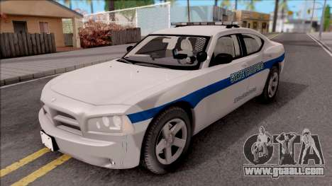 Dodge Charger San Andreas State Troopers 2010 for GTA San Andreas