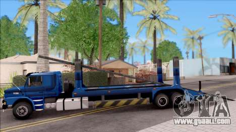 Scania 112H Cegonha for GTA San Andreas left view