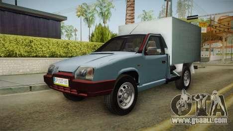 Skoda Favorit Truck D. for GTA San Andreas back left view