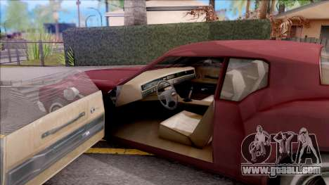 Driver PL Cerva V.2 for GTA San Andreas inner view