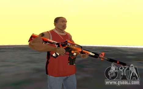 M4 Alliance for GTA San Andreas second screenshot