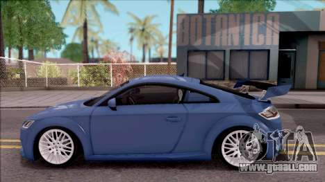Audi TTS 2015 for GTA San Andreas left view