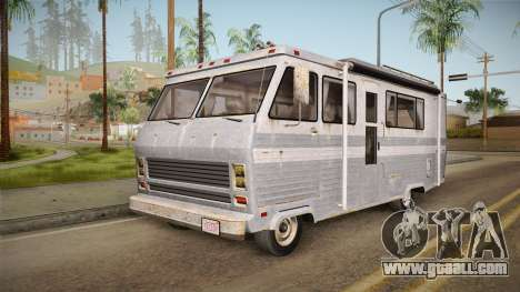 GTA 5 Zirconium Journey Worn IVF for GTA San Andreas back left view