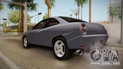 Fiat Coupe for GTA San Andreas back left view
